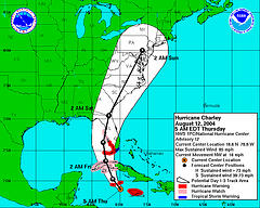 Hurrican Charley August 2004